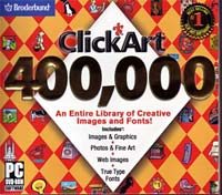 Encore Software Clickart 400K DVD (PC)
