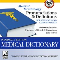 MegaSystems Medical Dictionary Pharmacy Edition (PC)