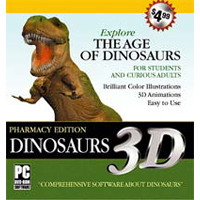 MegaSystems Dinosaurs 3D: Pharmacy Edition For Windows (PC)