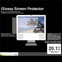 Green Onions Supply Glossy Screen Protector with Cloth, 20.1""