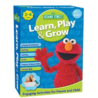 Nova Development Sesame Street Learn, Play & Grow (PC/Mac)