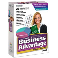 Individual Software Small Business Advantage Deluxe Edition 2008 (PC)