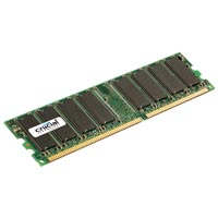 Crucial 1GB DDR-333 (PC-2700) Desktop Memory Module