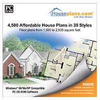 PC Treasures 4,500 Affordable House Plans in 29 Styles