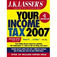 Wiley J.K. Lasser's Your Income Tax 2007