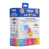 Brother LC51CL Value Pack
