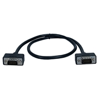 QVS UltraThin VGA HD15 M/M Cable