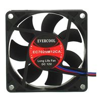 Evercool 70mm Ball Bearing Case Fan