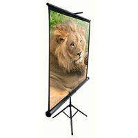 "Elite Screens 84"" Tripod Portable Projection Screen"