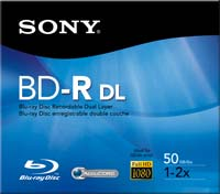 Sony BD-R DL 2x 50GB Disc