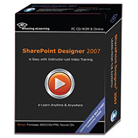 Amazing eLearning Microsoft SharePoint Designer 2007 Video Training (PC)