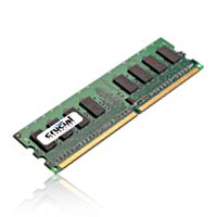 Crucial 2GB DDR2-667 (PC-5300) CL5 Desktop Memory Module