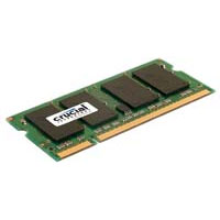Crucial 2GB DDR2-667 (PC-5300) SO-DIMM Laptop Memory Module