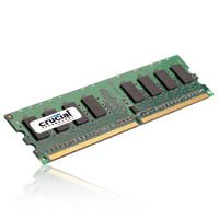 Crucial 2GB DDR2-800 PC2-6400 CL6 Single Channel Desktop Memory Module