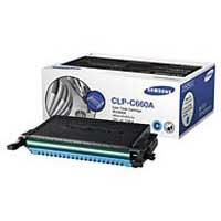 Samsung CLP-C660A Cyan Laser Toner Cartridge