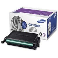 Samsung CLP-K660B Black Toner Cartridge