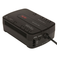 APC 550VA Green Battery Back-UPS with 8 Outlets, USB Connectivity and Shutdown Software