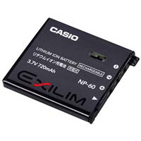 Casio NP-60 Digital Camera Battery
