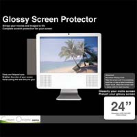 "Green Onions Supply 24"" Glossy Screen Protector with Wiping Cloth"