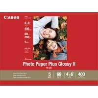 "Canon Photo Paper Plus Glossy II 4""x6"" 100 Sheets"