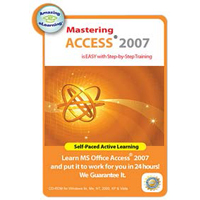 Amazing eLearning Mastering Access 2007 (PC)