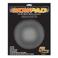 Microthin Products Wow!Pad Circle Mouse Pad Graphite