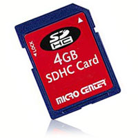 Micro Center 4GB SDHC Class 4 Flash Memory Card