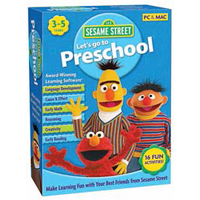 Nova Development Sesame Street - Let's Go to Preschool (PC/Mac)