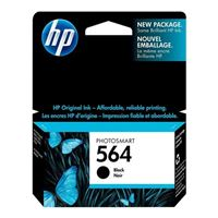 HP HP 564 Black Ink Cartridge (CB316WN)