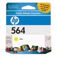HP HP 564 Yellow Ink Cartridge (CB320WN)