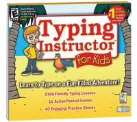 Individual Software Typing Instructor for Kids (PC)