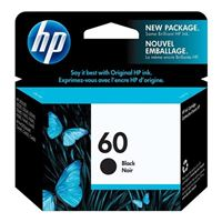 HP HP 60 Black Ink Cartridge (CC640WN)