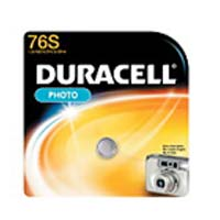 Duracell Photo Battery 76S Single-Pack