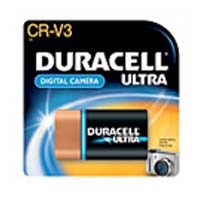 Duracell Ultra Lithium CR-V3 Photo Battery