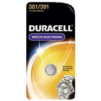 Duracell Watch Battery #381/391