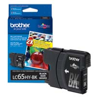 Brother LC65HY-BK High Yield Black Ink Cartridge