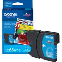 Brother LC65HY-C High Yield Cyan Ink Cartridge