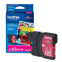 Brother LC65HY-M High Yield Magenta Ink Cartridge