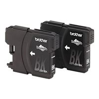 Brother LC612PKS Black Ink Cartridge 2-Pack