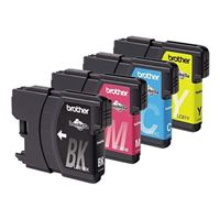 Brother LC613PKS Tri-Color Ink Cartridge 3-Pack