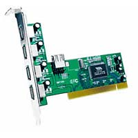 5-Port USB 2.0 PCI Card