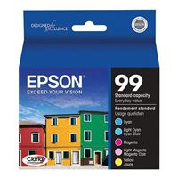 Epson T099920 Multi-Pack Color Ink Cartridges