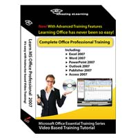 Amazing eLearning Learn Microsoft Office Professional 2007 (PC)