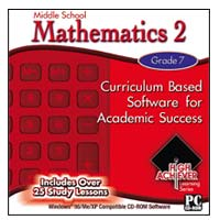 PC Treasures Middle School Mathematics 2