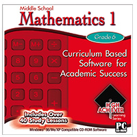PC Treasures Middle School Mathematics 1 (PC)