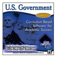PC Treasures High Achiever Learning: U.S. Government (PC)