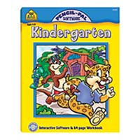 School Zone Publishing Pencil-Pal Kindergarten