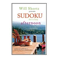World Publications Will Shortz Presents Sudoku for a Lazy Afternoon: 100 Wordless Crossword Puzzles
