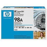 HP 92298A LaserJet Black Toner Cartridge