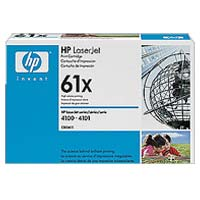 HP C8061X LaserJet Black High Capacity Toner Cartridge